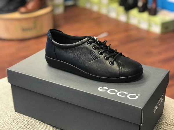 ECCO Soft 2.0 TIE (Black Feather)