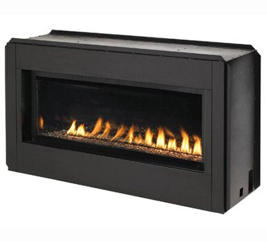 Paris Lights Vent Free Linear Fireplace Embers Home