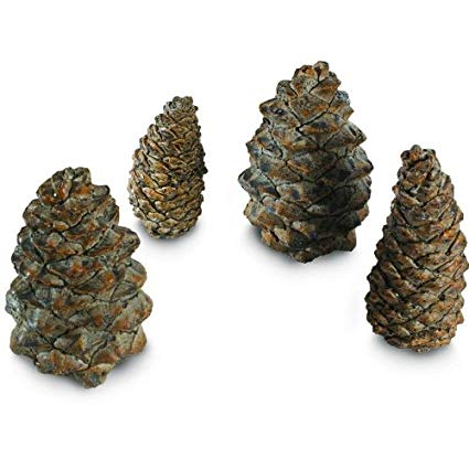 PC-4 4 Designer Pine Cones-Assorted Sizes
