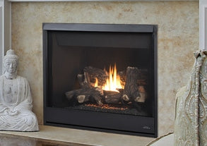 Altair DLX 40 Direct Vent Fireplace- F2654