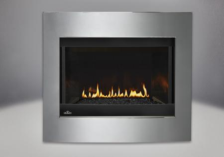 Crystallo Direct Vent Clean Face Gas Fireplace
