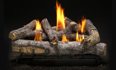 Cape Fear Oak Logs with Vent Free HM2 Burner Systems
