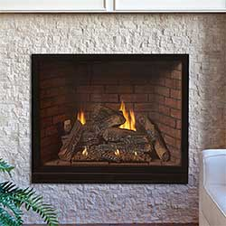Tahoe Clean Face Direct Vent Fireplace Luxury 36-DVCX36FP30N