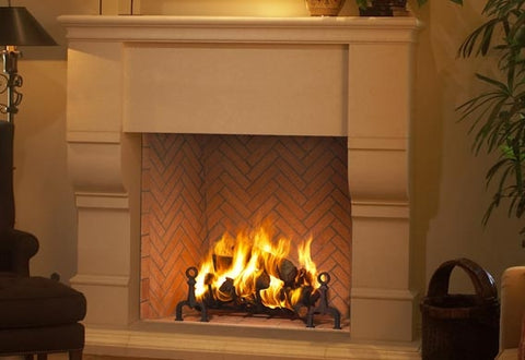 Plantation 48 Wood Burning Fireplace- F0691