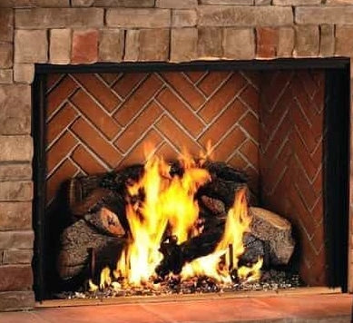 Georgian 50 Wood Burning Fireplace-F0695