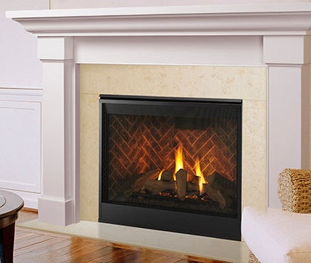Meridan Platinum 42 Direct Vent Gas Fireplace-DBDV42PLATIN