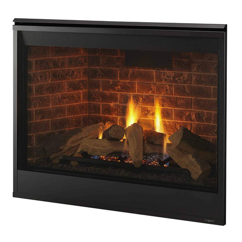 Meridian Series 36 Direct Vent Gas Fireplace-DBDV36lN