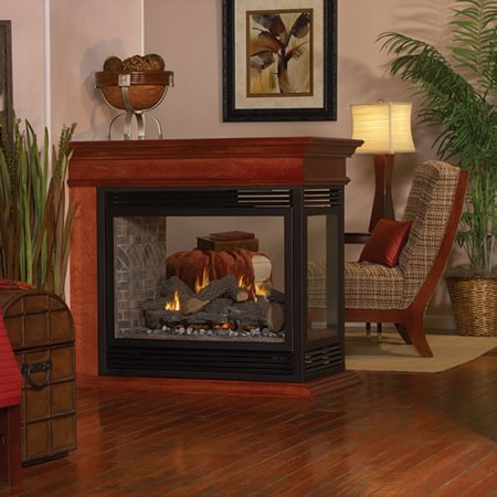 Tahoe Direct Vent See-Thru Fireplace Premium 36