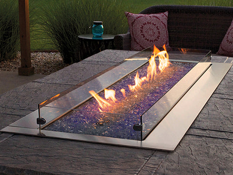 White Mountain Hearth Outdoor Linear Fire Pit 48