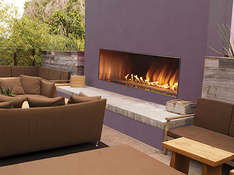 White Mountain Hearth Outdoor Linear Fireplace 48