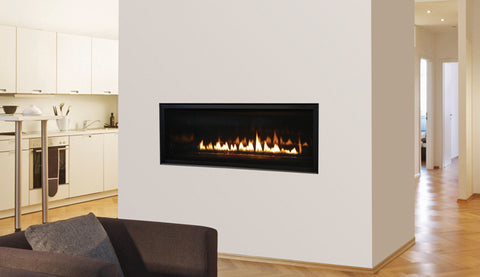 Venice Light Linear Direct Vent Fireplace