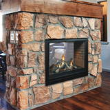 Tahoe Clean Face Direct Vent See-Thru Fireplaces