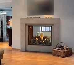 High Definition 81 See-thru Direct Vent Fireplace (Zero- Clearance Top Vent)
