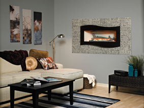 Boulevard Vent Free Linear Contemporary Fireplace
