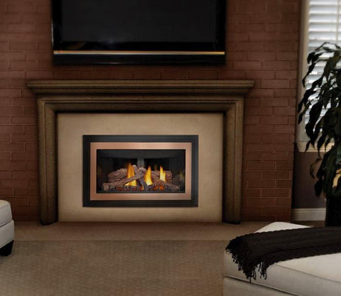 Inspiration ZC Direct Vent Gas Fireplace Insert