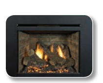 Madison Park 27 Direct Vent Gas Fireplace Insert- H9122