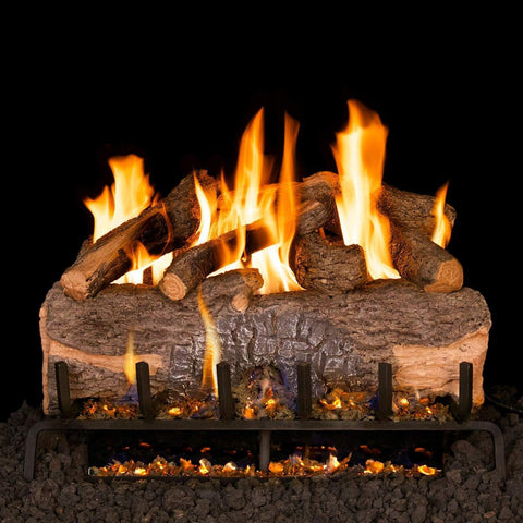 Mountain Crest Oak Logs with G31 3- Tiered Burner System