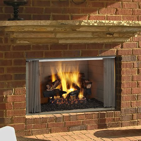 Majestic VillaWood Outdoor Fireplace - 36""