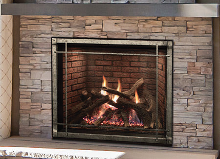 TruFlame Techonology Rushmore 40 Clean Face Direct Vent Fireplace-DVCT40CFP95N