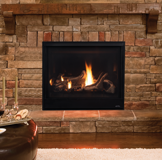 Scorpio 40 Direct Vent Fireplace-F2849