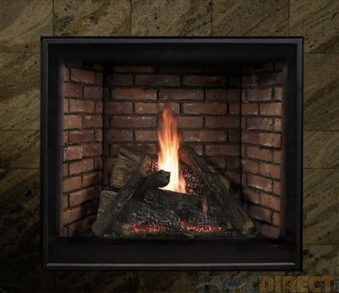 Tahoe Clean Face Direct Vent Fireplace Premium 42