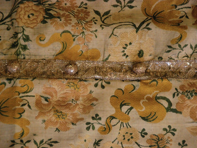 Silk and Gold Thread Brocade Chausuble - 18th Century - Helen Storey Antiques