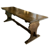 Late 17th Century Italian Walnut Dining Refectory Table - Helen Storey Antiques