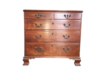 18th Century American Chippendale Chest - Helen Storey Antiques