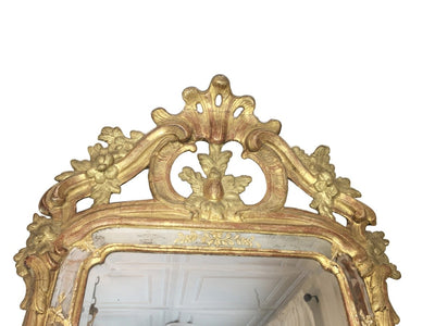 Stunning Carved and gilt 18th Century Gustavian Mirror - Helen Storey Antiques