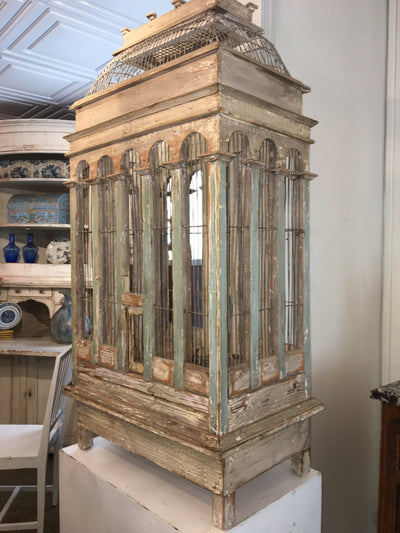 Gorgeous 19th Century French Provincial Birdcage - Helen Storey Antiques