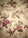 Large heavy French Provincial Boutis 19th Century Quilt - Helen Storey Antiques