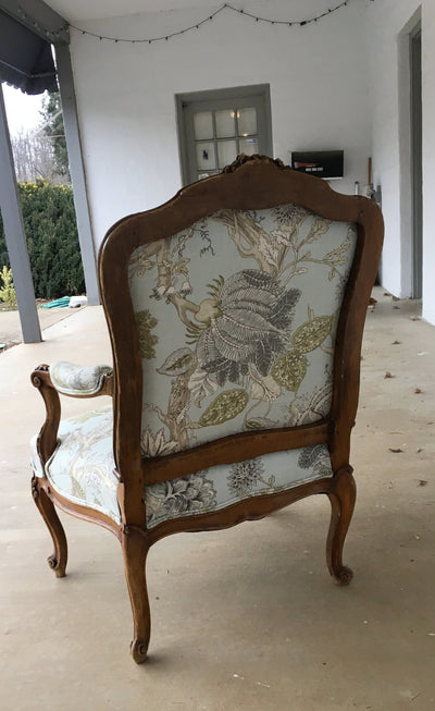Late 18th Century Louis XV Fauteuil a La Rein - Arm Chair - Helen Storey Antiques