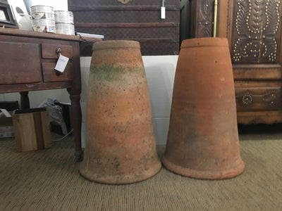 Pair of English 19th Century Rhubarb Forcers - Helen Storey Antiques