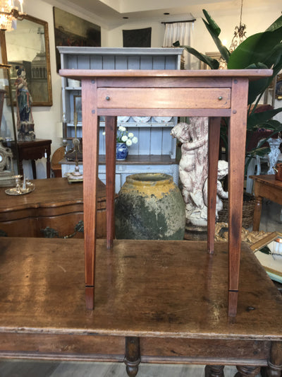 Inlaid Federal Southern Side Table - Georgia, Tennessee, Virginia - Helen Storey Antiques
