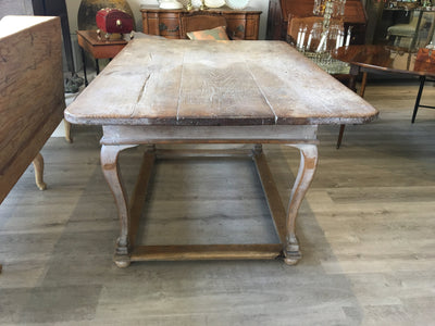 Beautiful Baroque Provincial Painted Country Table - Helen Storey Antiques