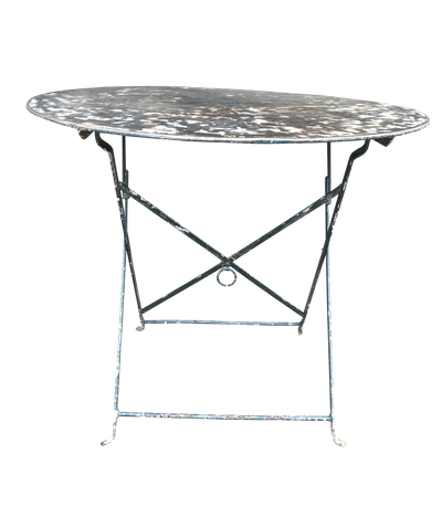 Vintage French Bistro Table - Helen Storey Antiques