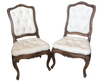 ON HOLD - Delightful Pair Louis XV Side Chairs - Helen Storey Antiques
