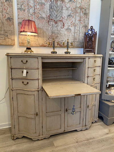 Case Pieces - 19th Century Swedish Painted Desk / Bureau