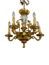 Chandelier - Louis XVI Style Crystal Five-Light Chandelier