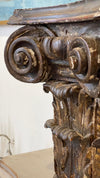 Column - 18TH CENTURY ITALIAN CORINTHIAN COLUMN CAPITAL
