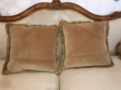 19th Century Tapestry Cushions - Helen Storey Antiques