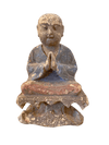 Decorative Object - 19th Century Carved Wood Buddha