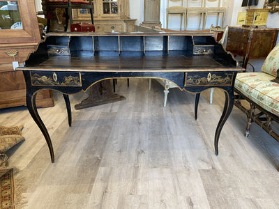 Desk - Louis XV French Chinoiserie Bureau Desk