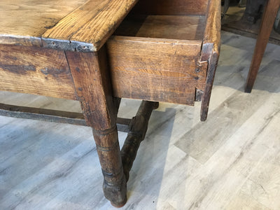 French Provincial Rustic Farm Table, 18th Century - Helen Storey Antiques