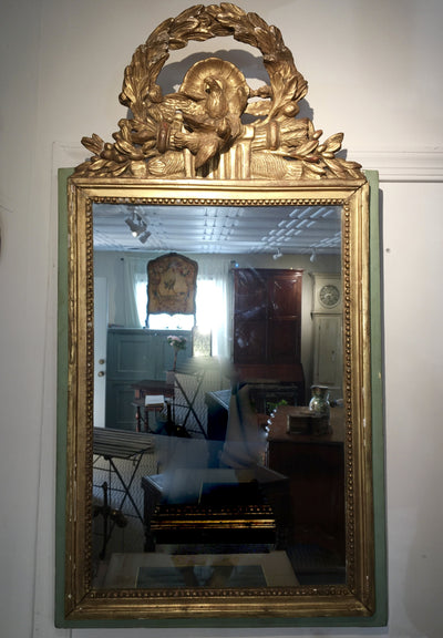 Beautiful Louis XVI 18th Century French Provincial Mirror - Helen Storey Antiques