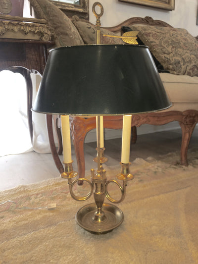 French Directoire Bouillot Table Lamp - Helen Storey Antiques