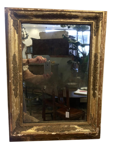 Mirror - French Provincial 19th Century Gilt Mirror
