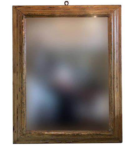 Large Italian Frame with Mirror 18th Century - Helen Storey Antiques