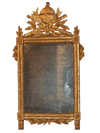 Nineteenth Century French Carved French Provincial Gilt Mirror - Helen Storey Antiques