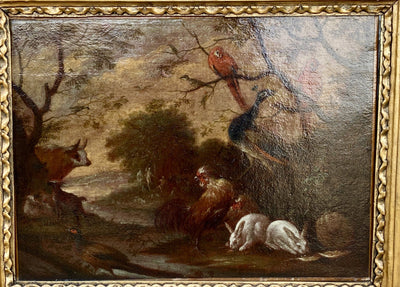 Oil Painting - Circle Of Roelant Savery Old Master Charming Landscape